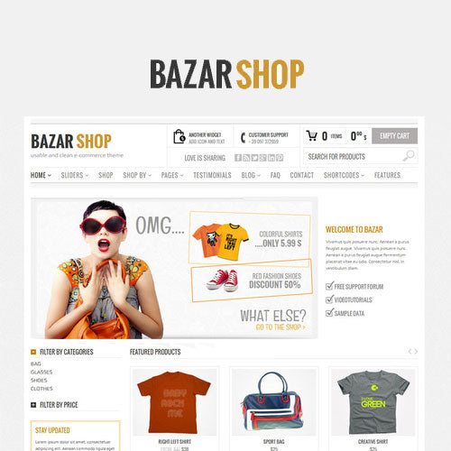 Bazar Shop – Multi-Purpose e-Commerce Theme