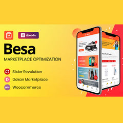 Besa – Elementor Marketplace WooCommerce Theme