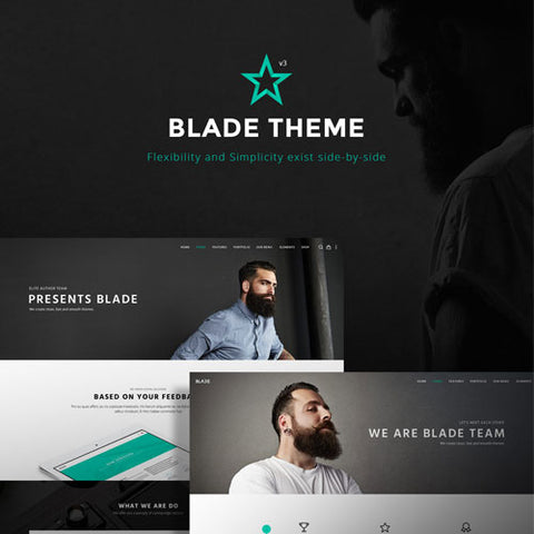 Blade – Responsive Multi-Functional Theme