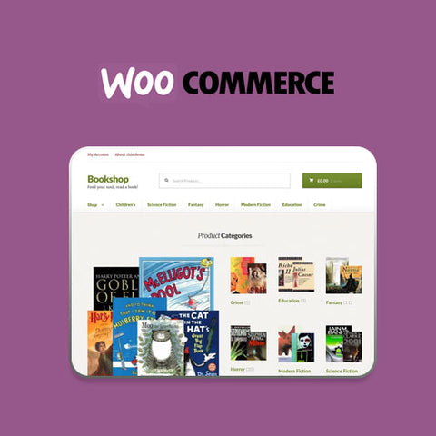 Bookshop Storefront WooCommerce Theme