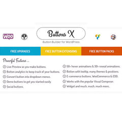 Buttons X – Powerful Button Builder for WordPress