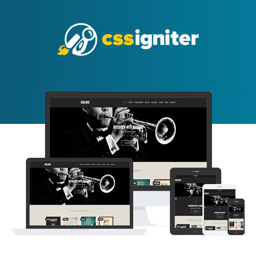 CSS Igniter Berliner WordPress Theme