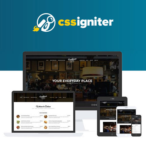 CSS Igniter Carbone WordPress Theme