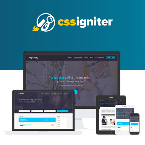 CSS Igniter Specialty WordPress Theme