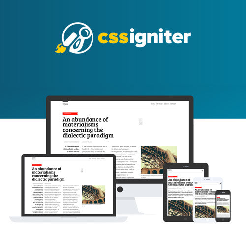 CSS Igniter Tinos WordPress Theme