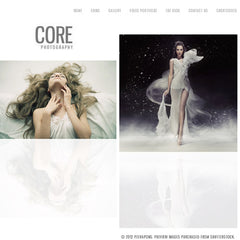 Core Minimalist Photography Portfolio