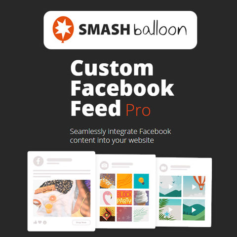 Custom Facebook Feed Pro By Smash Balloon