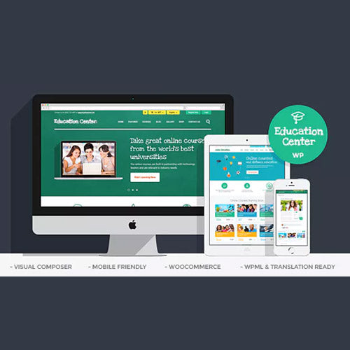 Education Center | Training Courses WordPress Theme