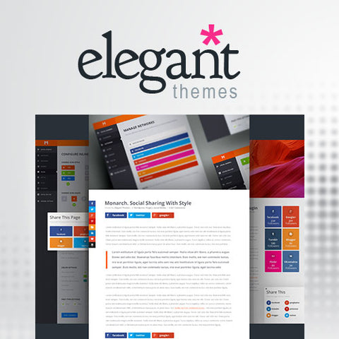 Elegant Themes Monarch Social Media Sharing