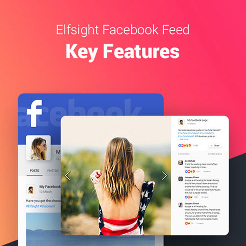Facebook Feed – WordPress Facebook Plugin