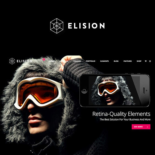 Elision – Retina Multi-Purpose WordPress Theme