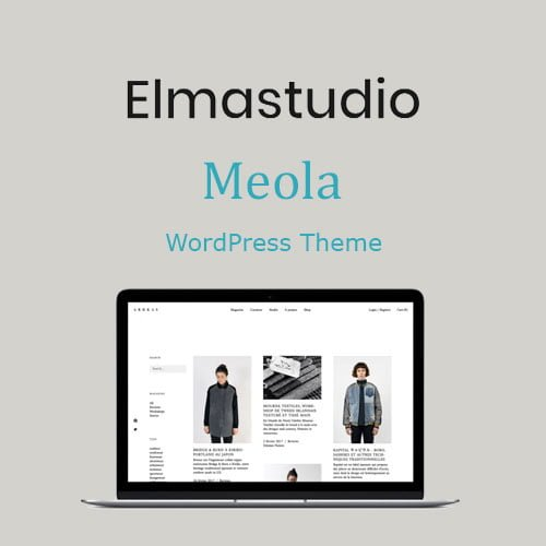 ElmaStudio Meola WordPress Theme