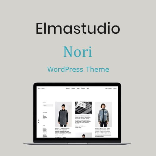 ElmaStudio Nori WordPress Theme