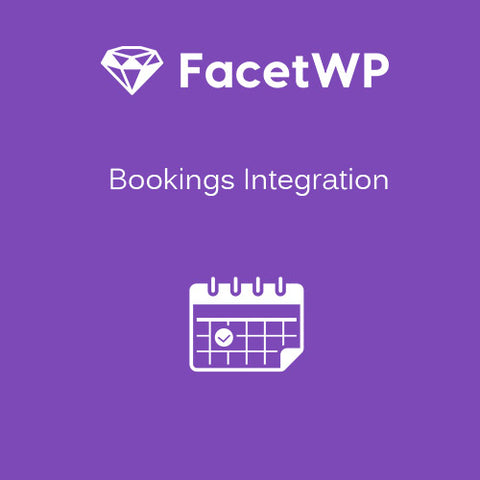 FacetWP – Bookings Integration