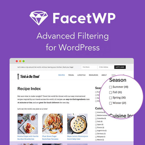 FacetWP – Advanced Filtering for WordPress