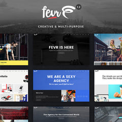 Fevr – Creative MultiPurpose Theme