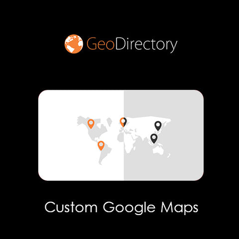 GeoDirectory Custom Google Maps