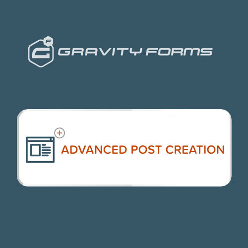 Gravity Forms Advanced Post Creation Addon
