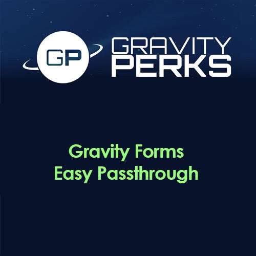 Gravity Perks – Gravity Forms Easy Passthrough