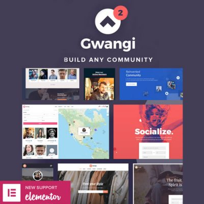 Gwangi – PRO Multi-Purpose Membership, Social Network & BuddyPress Community Theme