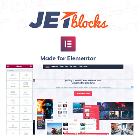 JetBlocks For Elementor