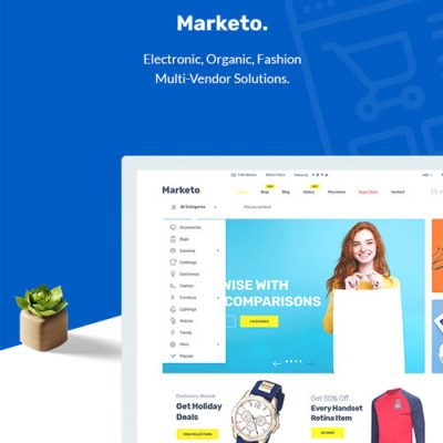 Marketo – eCommerce&Multivendor Marketplace Woocommerce WordPress Theme