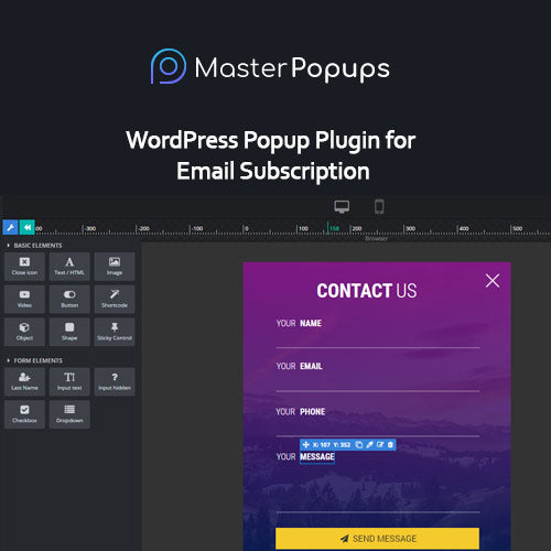 Master Popups – WordPress Popup Plugin for Email Subscription