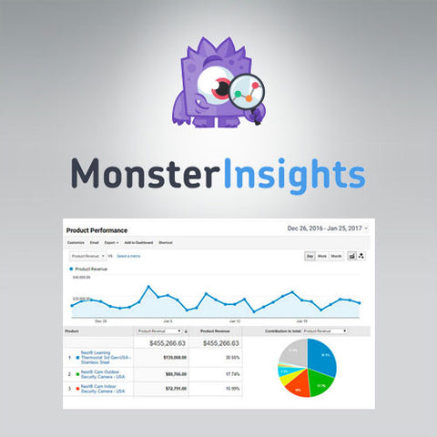 MonsterInsights – eCommerce Addon