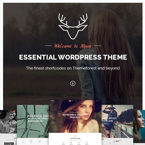Moose – Creative Multi-Purpose Theme