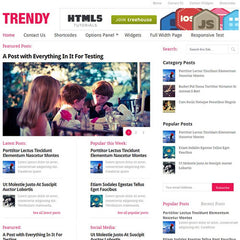 MyThemeShop Trendy WordPress Theme