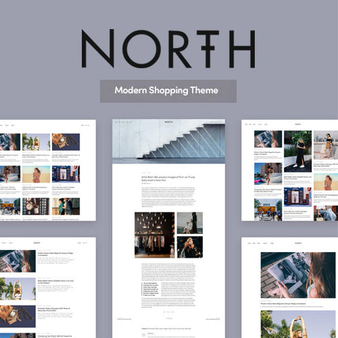 North – Responsive WooCommerce Theme