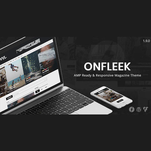 Onfleek – AMP Ready and Responsive Magazine Theme