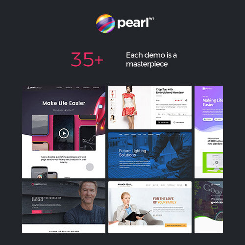 Pearl Business – Corporate Business WordPress Theme for Company and Businesses