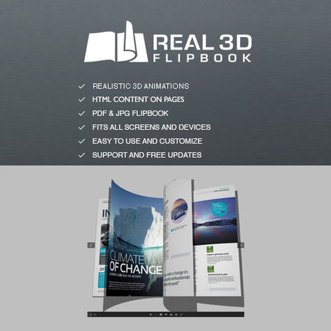 Real 3D Flipbook