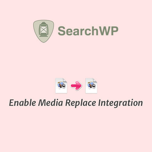 SearchWP Enable Media Replace Integration