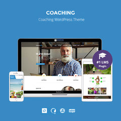 Speaker and Life Coach WordPress Theme | Coaching WP