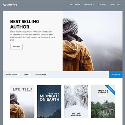 StudioPress Author Pro Genesis WordPress Theme