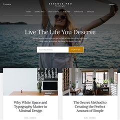 StudioPress Essence Pro Genesis WordPress Theme