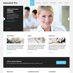 StudioPress Executive Pro Genesis WordPress Theme