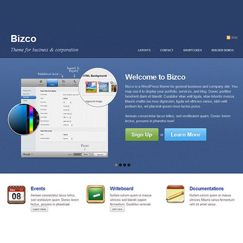 Themify Bizco WordPress Theme