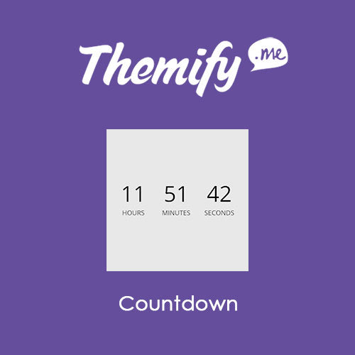 Themify Builder Countdown
