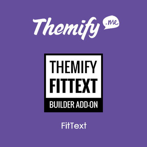 Themify Builder FitText