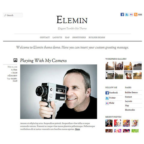 Themify Elemin WordPress Theme