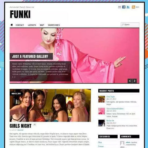 Themify Funki WordPress Theme