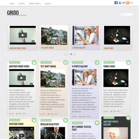 Themify Grido WordPress Theme