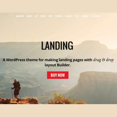 Themify Landing WordPress Theme