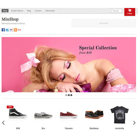 Themify Minshop WooCommerce Theme