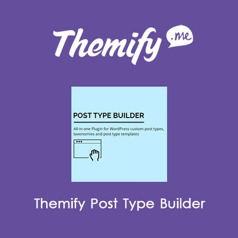 Themify Post Type Builder