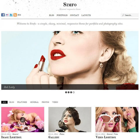 Themify Simfo WordPress Theme