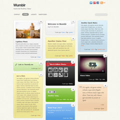 Themify Wumblr WordPress Theme